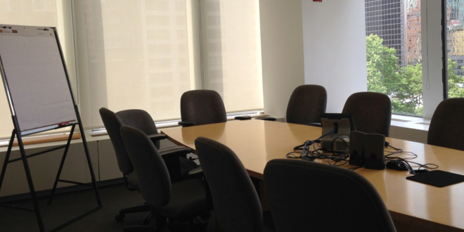 Konferenzraum - so wird er zweckmäßig eingerichtet